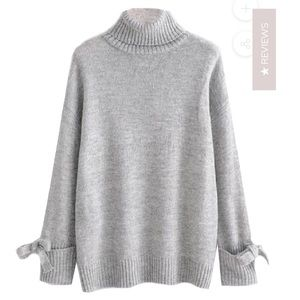 NWT - turtleneck sweater (fits like a small)